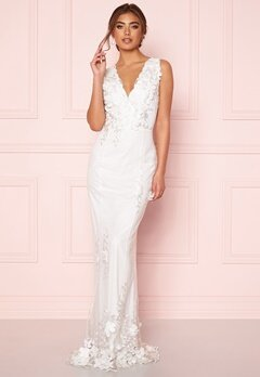 Moments New York Oleana Wedding Gown White Bubbleroom.no