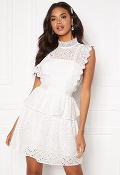 Moments New York Olivia Crochet Dress White Bubbleroom.no