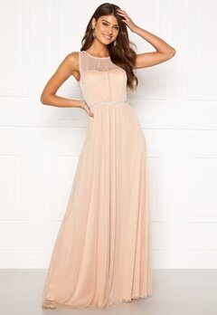 Moments New York Ophelia Lurex Gown Light pink Bubbleroom.no