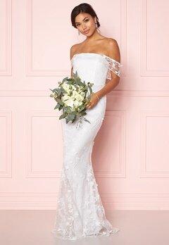 Moments New York Petunia Wedding Gown White Bubbleroom.no