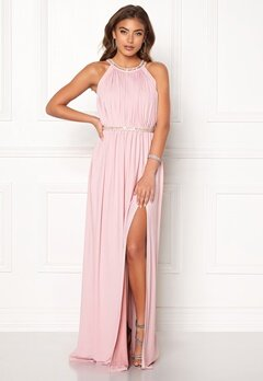 Moments New York Rose Draped Gown Dusty lilac Bubbleroom.no