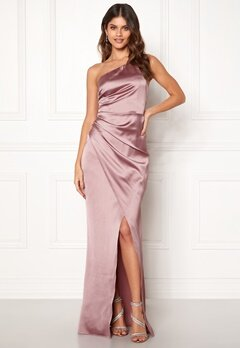 Moments New York Rosemary Satin Gown  Bubbleroom.no
