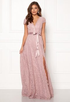 Moments New York Viola Lace Gown Dusty lilac Bubbleroom.no
