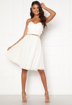 Moments New York Zaria Short Skirt  White Bubbleroom.no