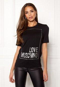 Love Moschino Moschino T-shirt Black Bubbleroom.no