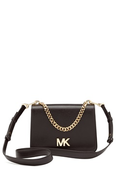 Michael Michael Kors Mott Chain Shoulder Bag Black Bubbleroom.no