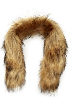 Mountain Works Faux Fur Trim 200 Brown Bubbleroom.no