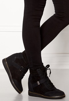 New Look Mudge wedge shoe Black Bubbleroom.no