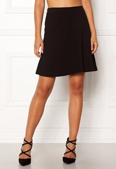 Boomerang Munte Interlock Skirt Black Bubbleroom.no
