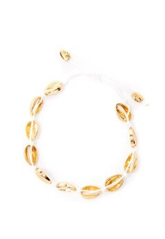Pieces Nella Bracelet Gold Bubbleroom.no