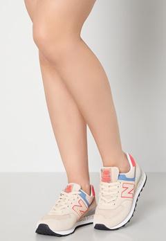 New Balance WL574 Sneakers Beige Bubbleroom.no