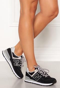 New Balance WL574 Sneakers Black/White Bubbleroom.no
