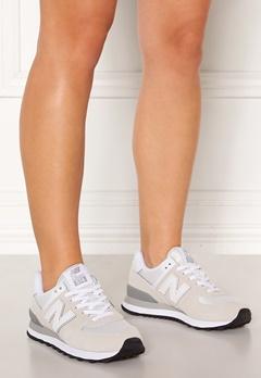New Balance WL574 Sneakers White/White Bubbleroom.no