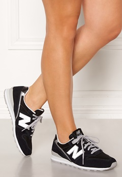New Balance WL996 Sneakers Black/Silver Bubbleroom.no