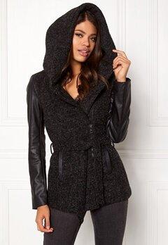 ONLY New Lisford Wool Coat Black Bubbleroom.no