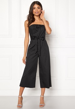 New Look Bandeau Culotte Jumpsuit Black Bubbleroom.no