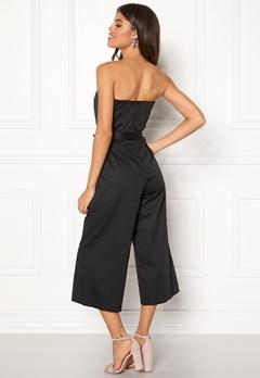 New Look Bandeau Culotte Jumpsuit Black Bubbleroom.no