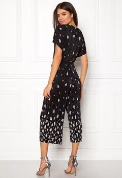 New Look Border Print Jumpsuit Black Pattern Bubbleroom.no