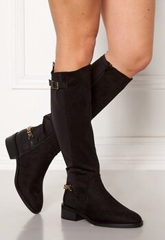 New Look Chain Riding Boots Black Bubbleroom.no