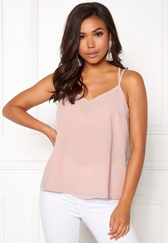 New Look Char Lace Cami Singlet Shell Pink Bubbleroom.no