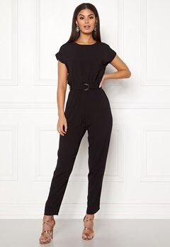 New Look D-Ring Tee Jumpsuit Black Bubbleroom.no