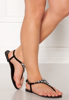 New Look Embellished Toe Sandal Black Bubbleroom.no