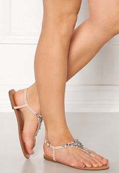 New Look Embellished Toe Sandal Pink Bubbleroom.no