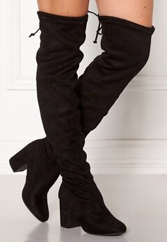 New Look Erica High Leg Boots Black Bubbleroom.no