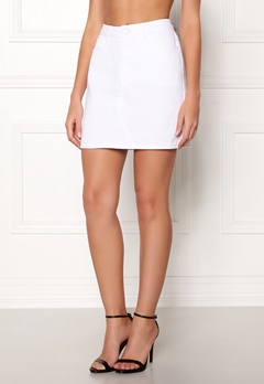 New Look Eva Skirt White Bubbleroom.no