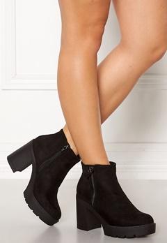 New Look High Chunky Boots Black Bubbleroom.no