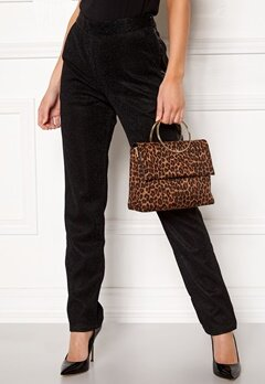 New Look Leopard Matilda Metal Bag Brown Pattern Bubbleroom.no