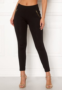 New Look New Ponte Zip Leggings 1 Bubbleroom.no