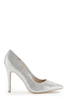 New Look Scooch 4 heel Silver Bubbleroom.no