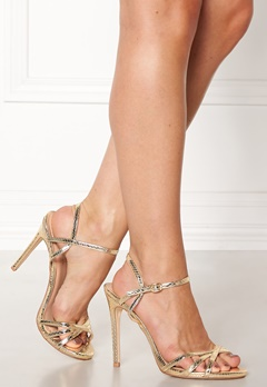 New Look Scope PU Strappy Sandal Gullfarge Bubbleroom.no