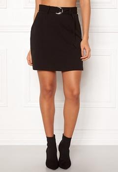 New Look Scuba Crepe Skirt Black Bubbleroom.no