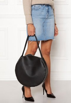 New Look Selina Studded Round Tote Black Bubbleroom.no