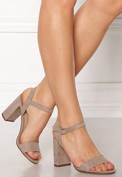 New Look Sims Block Heel Sandal Grey Bubbleroom.no