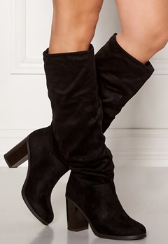 New Look Slouch High Leg Boots Black Bubbleroom.no
