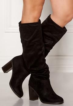 2c7fe9257cc6 New Look Slouch High Leg Boots Black Bubbleroom.no