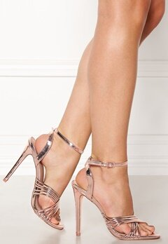 New Look Squaw PU Strappy Sandal Gunmetal Bubbleroom.no