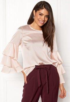 New Look Triple sleeve Blouse Shell Pink Bubbleroom.no