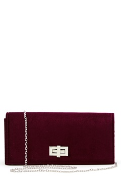 New Look Vespa Velvet Clutch Burgundy Bubbleroom.no