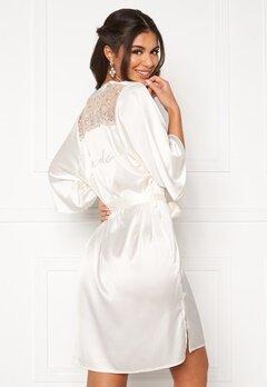 Nicole Falciani X Bubbleroom Nicole Falciani Bride Robe White Bubbleroom.no