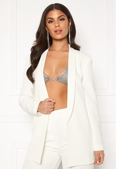 Nicole Falciani X Bubbleroom Nicole Falciani Suit Jacket White Bubbleroom.no