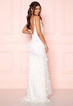 Nicole Falciani X Bubbleroom Nicole Falciani Wedding Gown White Bubbleroom.no