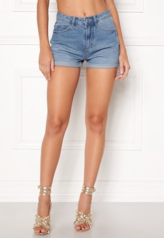 VERO MODA Nineteen HW Loose Shorts Light Blue Denim Bubbleroom.no