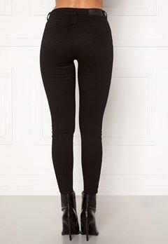 Noisy May Jen NW S.S Shaper Jeans Black Bubbleroom.no