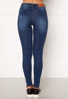 Noisy May Jen NW S.S Shaper Jeans Medium Blue Denim Bubbleroom.no