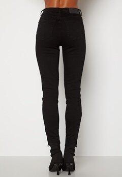 Noisy May Kimmy Ankel Dart Jeans Black Bubbleroom.no