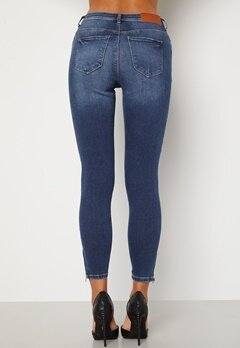 Noisy May Kimmy Ankel Dart Jeans Medium Blue Denim Bubbleroom.no